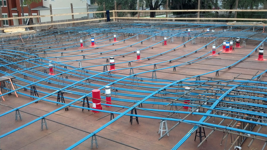 Completed Commercial And Industrial Post Tension Projects